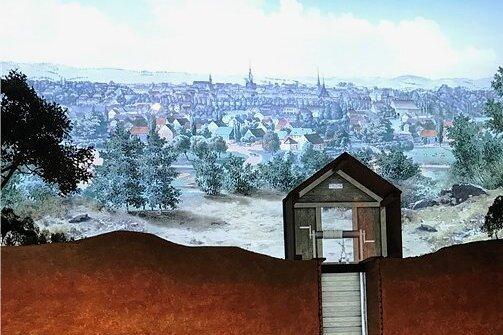 Analog trifft digital: Video-animiertes Modell einer Zwickauer Kohlegrube zur Zeit des 30-jährigen Krieges.