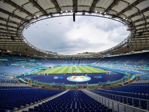 Im Olympiastadion von Rom eröffnen Italien und die Türkei die Fußball-EM.
