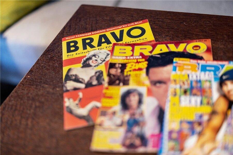 """Gestartet mit Marilyn Monroe auf dem Titel: Die """"Bravo""""."""