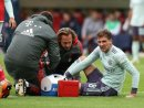 Leon Goretzka musste in Mainz verletzt runter