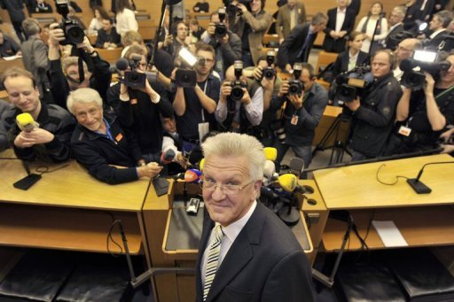 Der baden-württembergische Grünen-Spitzenkandidat Winfried Kretschmann ist Protagonist einer historischen Zäsur: Nach dem Wahltriumph seiner Partei hat er beste Chancen, erster grüner Ministerpräsident in einem Bundesland zu werden.