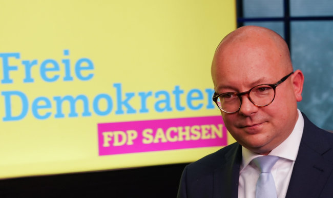 Frank Müller-Rosentritt ist neuer FDP-Chef in Sachsen.
