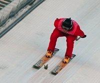 In Oberhof am Start: Todd Lodwick