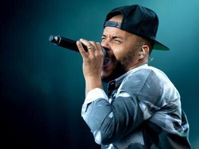 Auf Elternabenden stößt Rapper Denyo mit seinem Beruf häufig auf Vorurteile.