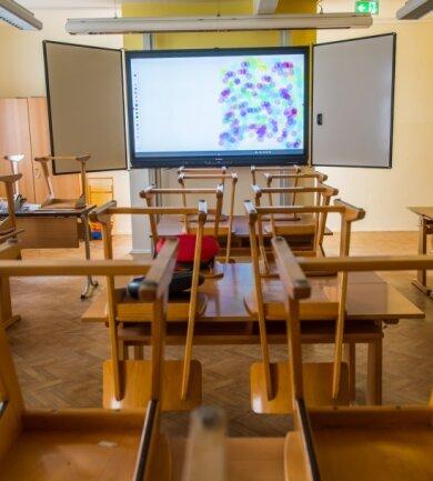 Die Klassenzimmer der Jahnsdorfer Grundschule sind nun mit interaktiven Whiteboards ausgestattet.