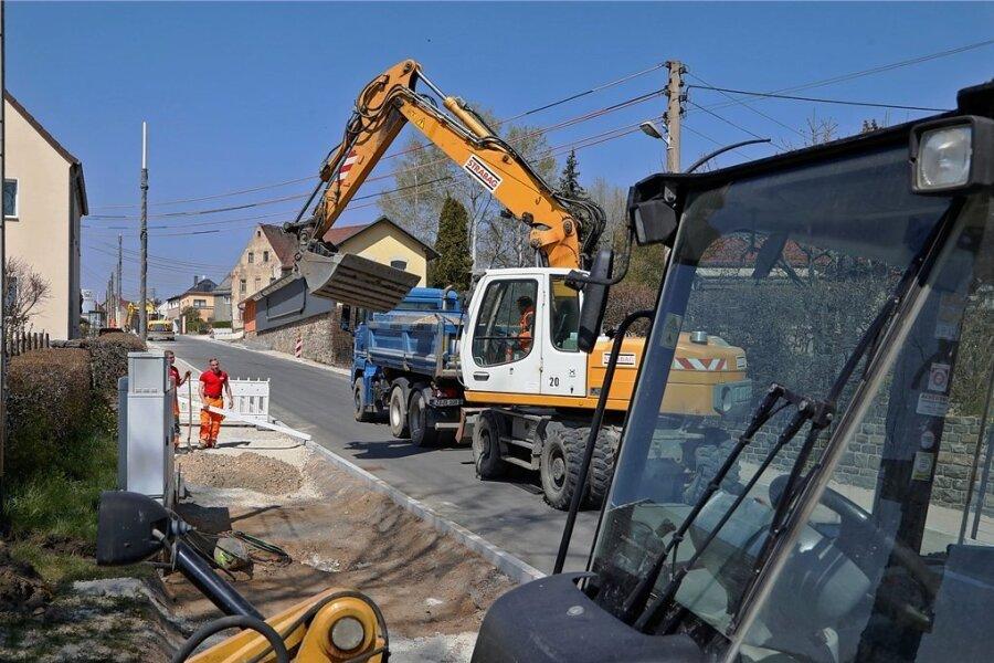 Die Bauarbeiten an der Meraner Straße befinden sich in den letzten Zügen.
