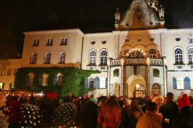 Auch dieses Jahr soll der weihnachtliche Budenzauber vor dem Waldenburger Schloss wieder Gäste anlocken.