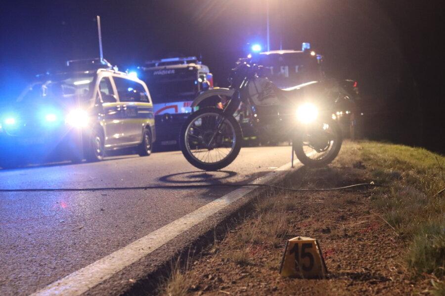 Tödlicher Verkehrsunfall bei Seifersbach