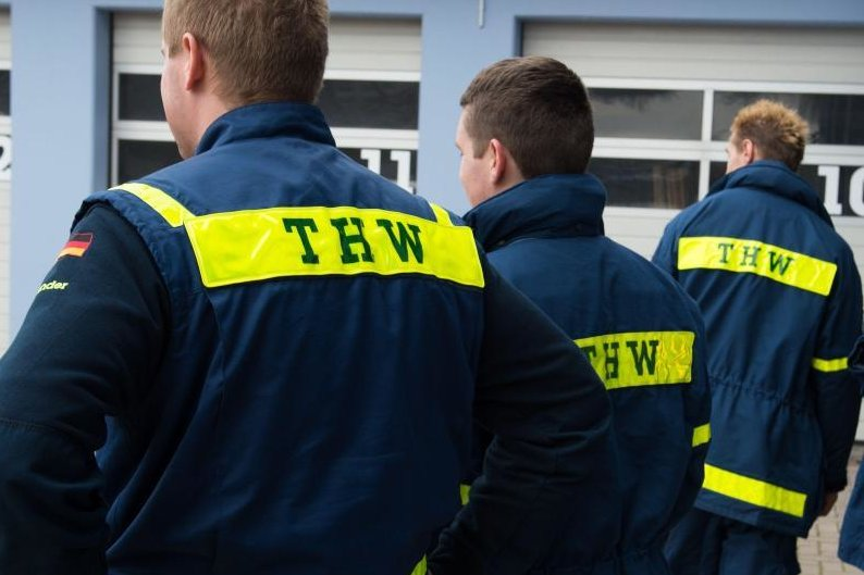 Das Technische Hilfswerk in Chemnitz