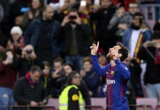 Auf bestem Weg zur Meisterschaft: Lionel Messi und Barca