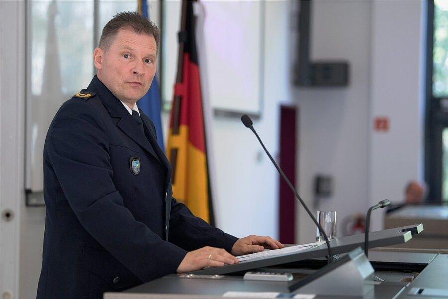 Carsten Kaempf soll die Leitung der Chemnitzer Polizei übernehmen.