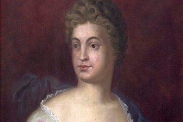 Dieses Bild von Friederike Caroline Neuber entstand um 1900 - nach einem Stahlstich von 1854.