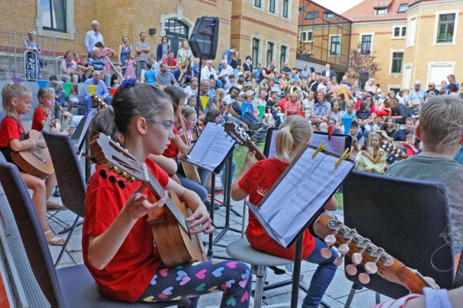 Ein wichtiges Konzert für die Kinder