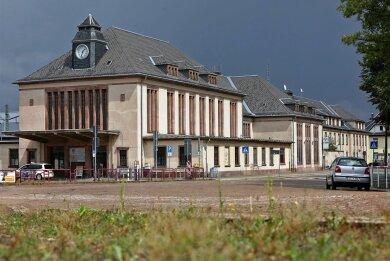 Der Glauchauer Bahnhof steht vor der Sanierung.