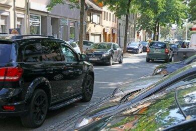 In Zwickau sind Parkplätze knapp. Ein Parkraumkonzept soll Lösungen aufzeigen.