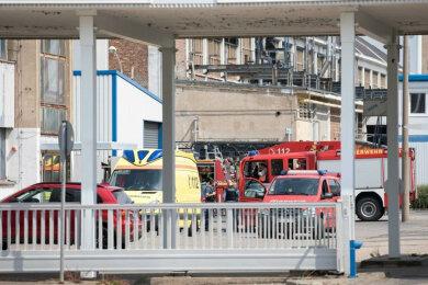 Die Feuerwehren aus Brand-Erbisdorf sind am Sonntagvormittag zu einem Einsatz in die Berthelsdorfer Straße ausgerückt.