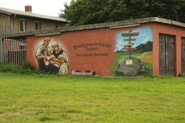 Der Ort Jamel in Mecklenburg-Vorpommern zählt bereits zu den sogenannten völkischen Siedlungen.