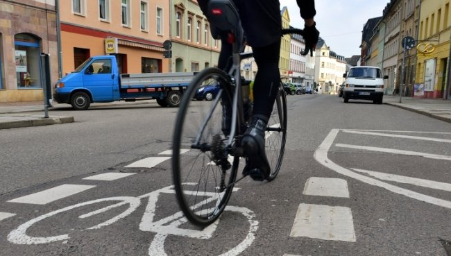 Die Mehrheit der Mittweidaer sieht sich im Straßenverkehr regelmäßig gefährdet, zeigt die Umfrage des ADFC.