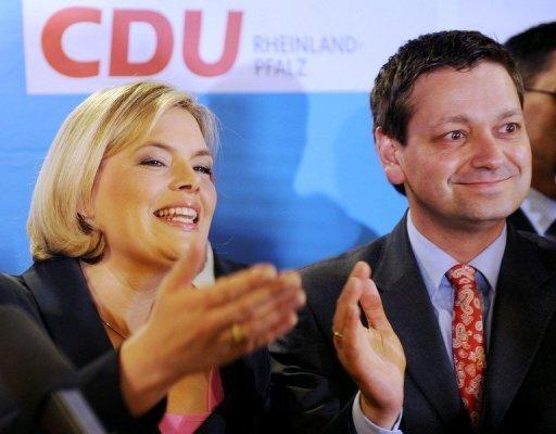 Die Sensation, in Rheinland-Pfalz zu gewinnen, hat CDU-Spitzenkandidatin Julia Klöckner zwar nicht geschafft. Aber sie kam fast an das Ergebnis von Amtsinhaber Kurt Beck (SPD) heran.