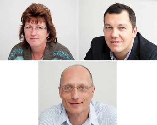 Die Experten: Heike Dengler und Thomas Köhler (oben); Uwe Kantelberg (unten).