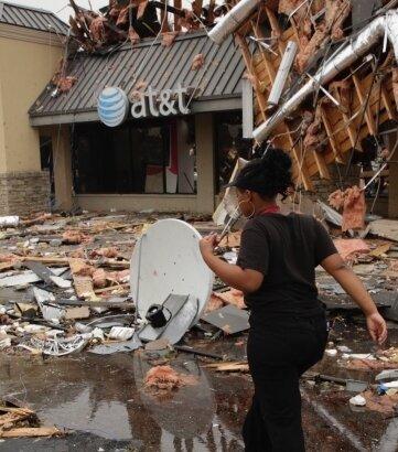 Könnte künftig öfter passieren: Bei einem seltenen August-Tornado wurden in Tulsa, Oklahoma (USA), Menschen verletzt.