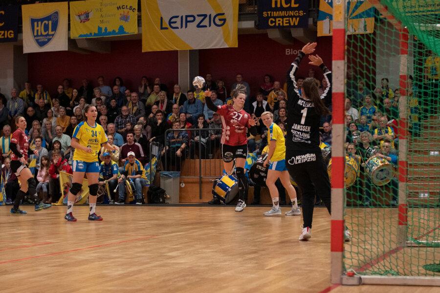 Jenny Choinwoski traf für Zwickau in Leipzig fünfmal.