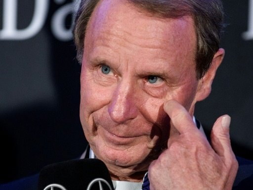 Vogts besuchte den Mercedes-Benz-Sportpresseclub