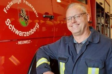 Robert Lötsch leitet mittlerweile seit rund zehn Jahren die Ortsfeuerwehr Neuwelt.