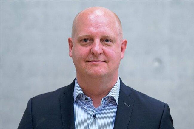 Henning Homann - Generalsekretär und Mittelsachsen-Chef