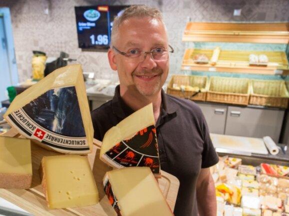 Der Lengefelder Frank Fritzsche ist Käsesommelier aus Passion. Jeden Sommer fährt er in die Alpen, um Neues zu entdecken..