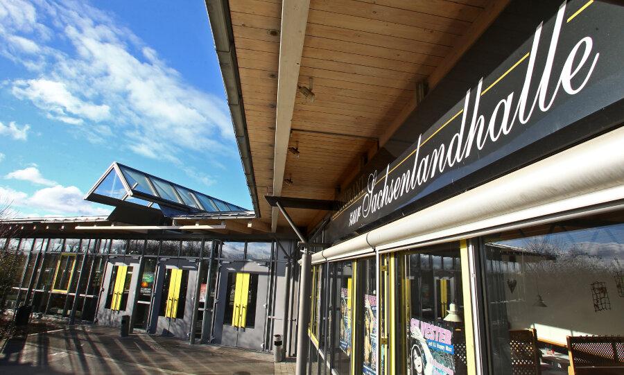 Die Zwickauer Kreistagssitzungen finden in der Glauchauer Sachsenlandhalle statt.