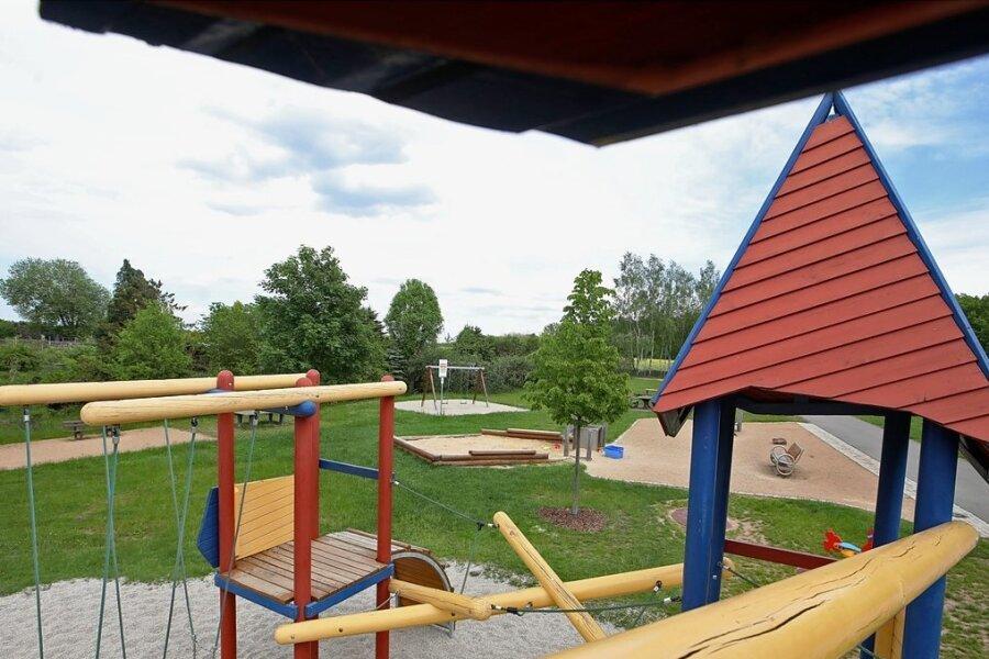 Der erste Bauabschnitt auf dem Voigtlaider Spielplatz hat 130.000 Euro gekostet.