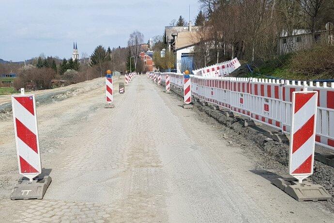 Bundesstraße bald wieder dicht