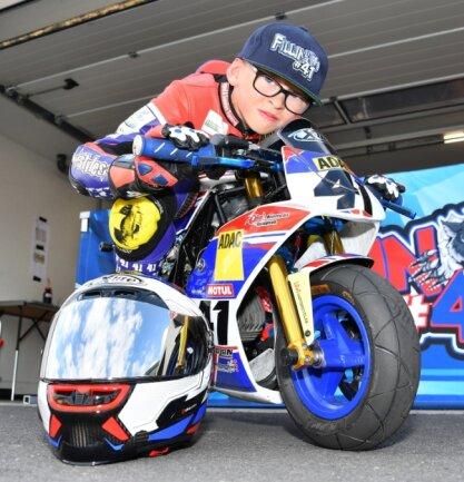 Fillin Lorenz wurde am Montag acht Jahre alt. Auch auf der Strecke gibt es für den Motorrad-Rennfahrer einiges zu feiern.