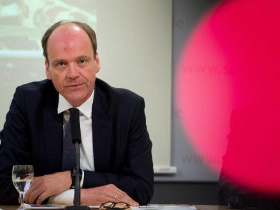 Matthias Haß (CDU), Finanzminister von Sachsen.