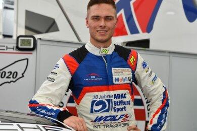 Toni Wolf machte nach seinem fünften und achten Platz auf dem Sachsenring einen zufriedenen Eindruck.