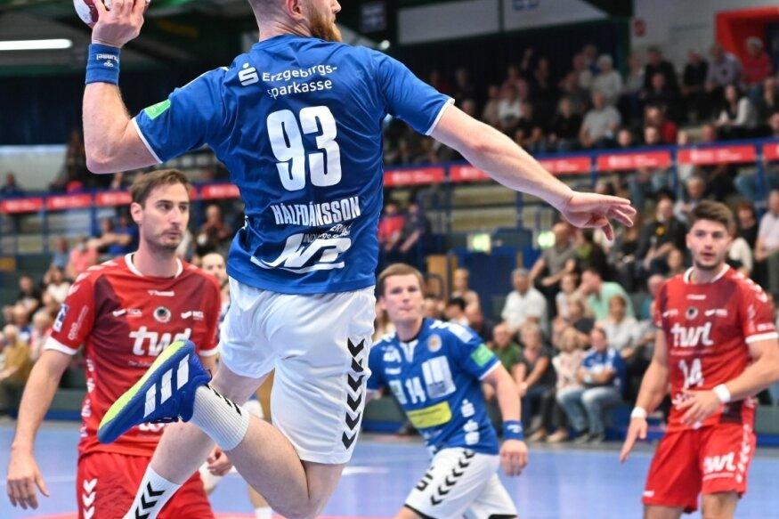 Auch gegen den HC Elbflorenz wird es auf Arnar Birkir Halfdansson und dessen treffsicheres Händchen ankommen. Vor knapp zwei Wochen, gegen Ludwigshafen, waren seine acht Tore der EHV-Bestwert.