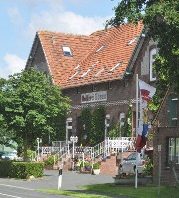 Einst Molkerei, heute Familienhotel in Horum.