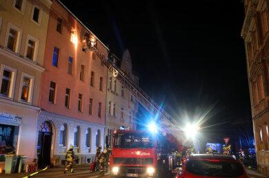 An der Schützenstraße in Hohenstein-Ernstthal ist es am Montagabend zu einem Wohnungsbrand gekommen.