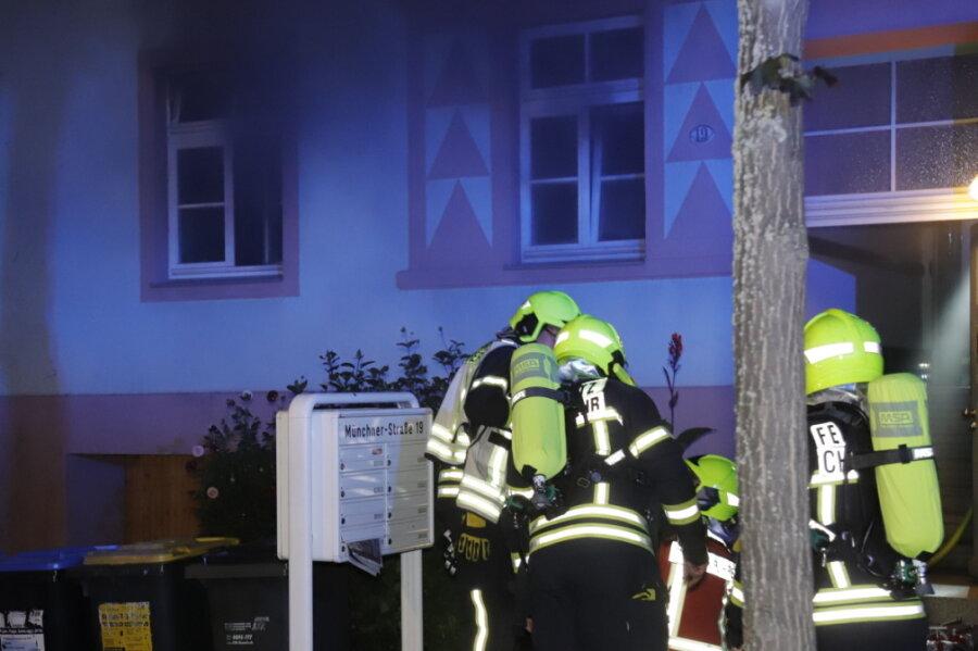 Feuerwehr rückt zu Küchenbrand aus