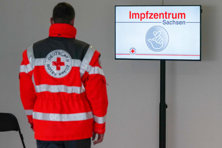 Diese 13 Impfzentren gehen am Montag in Sachsen in Betrieb