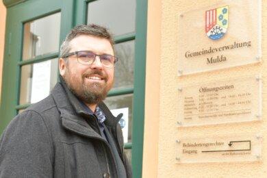 Amtsantritt in der Coronazeit: Michael Wiezorek (parteilos) zieht ab Mitte Mai als neuer Bürgermeister in das Mul-daer Rathaus ein.