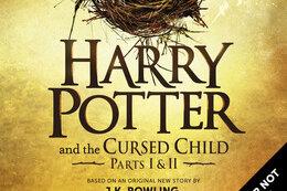 Das vorläufige Buchcover des im britischen Verlag «Little, Brown Book Group Limited» erscheinenden Buches «Harry Potter and The Cursed Child» («Harry Potter und das verwunschene Kind») der britischen Autorin Joanne K. Rowling