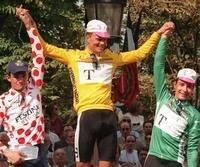 Die Trikotgewinner der Tour de France 1996