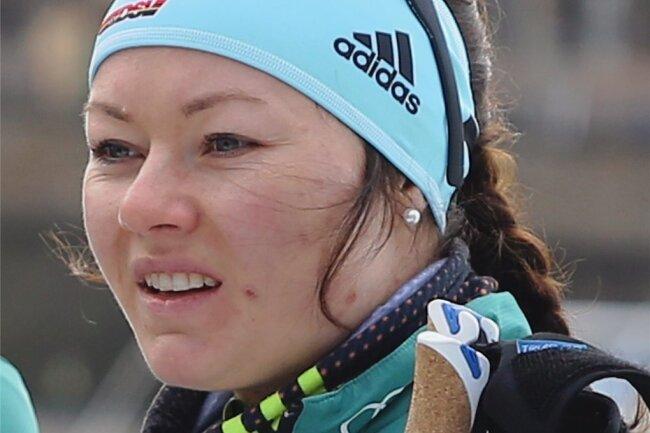 Sprintspezialistin Anne Winkler vom SSV Sayda hofft noch auf die WM in Seefeld.