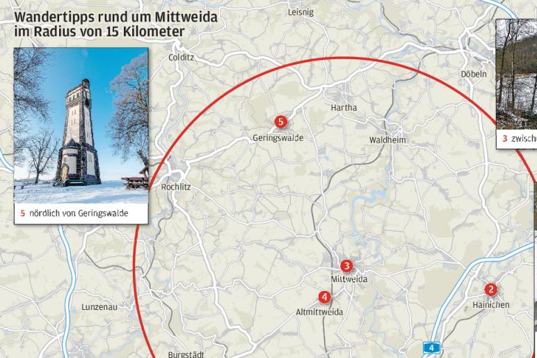 Im 15 km-Radius: Touren ab der Haustür