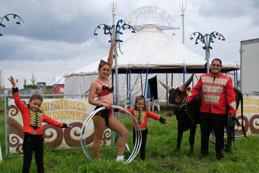 Zirkus hofft auf viele Besucher