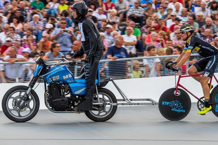 Die Lokalmatadoren Robert Retschke (r.) und Holger Ehnert landeten bei den Deutschen Meisterschaft 2018 vor einer stimmungsvollen Heimkulisse auf dem dritten Platz.