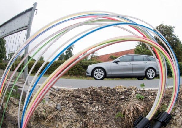 Nach dem neuen Plan können in Bad Elster bis zu 563 Hausanschlüsse per Glasfaser angeschlossen werden. Das sind mehr als doppelt so viele wie bislang vorgesehen.