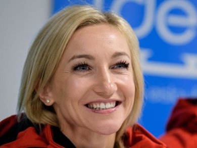 Eiskunstläuferin Aljona Savchenko erwartet ein Baby.